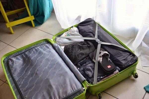 Bagage pour un voyage